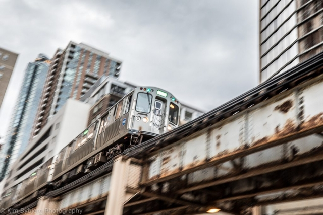 The L in Chicago by Kim Bybjerg Photography
